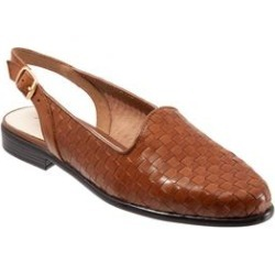 Extra Wide Width Women's Lena Slingback by Trotters in Cognac (Size 10 WW) found on Bargain Bro India from Woman Within for $104.99