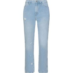 Denim Trousers - Blue - MiH Jeans Jeans found on MODAPINS from lyst.com for USD $127.00