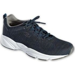 Men's Propet Stability Fly Shoes, Navy/Grey Blue 14 M Medium found on Bargain Bro from Blair.com for USD $64.59