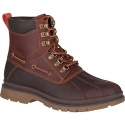 Sperry Top-Sider Men's Cold Weather Boots BROWN/TAN - Brown & Tan Watertown Leather Duck Boot - Men found on Bargain Bro from zulily.com for USD $80.70