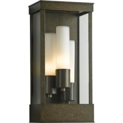 Hubbardton Forge Portico 17 Inch Tall 3 Light Outdoor Wall Light - 304325-1026 found on Bargain Bro from Capitol Lighting for USD $1,111.88
