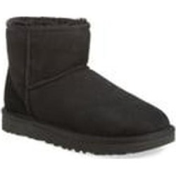 UGG Classic Mini Ii Genuine Shearling Lined Boot - Black - Ugg Boots found on Bargain Bro from lyst.com for USD $114.00