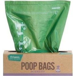 Frisco Pantry Pack Dog Poop Bag, Scented, 300 count found on Bargain Bro from Chewy.com for USD $8.34