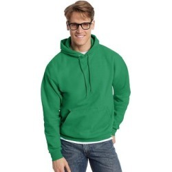 Hanes ComfortBlend EcoSmart Pullover Hoodie Sweatshirt (Navy - L), Men's, Blue(cotton) found on Bargain Bro Philippines from Overstock for $23.53