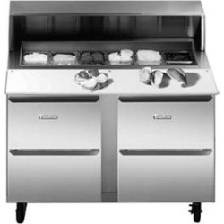 """Traulsen UPT3212-D 32"""" 2 Drawer Refrigerated Sandwich Prep Table"""