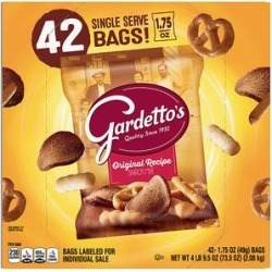 Gardettos Crackers 42 - 42-Ct. 1.75-Oz. Original Snack Mix found on Bargain Bro Philippines from zulily.com for $16.09