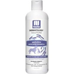 Nootie Medicated Anti-Itch Dog Shampoo, 16-oz bottle found on Bargain Bro India from Chewy.com for $37.04