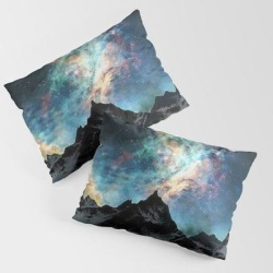King Size Pillow Sham | Northern Light Alaska by Exquisite - STANDARD SET OF 2 - Cotton - Society6 found on Bargain Bro from Society6 for USD $30.39