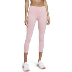 Epic Luxe Crop Pocket Running Tights - Black - Nike Pants found on Bargain Bro from lyst.com for USD $68.40