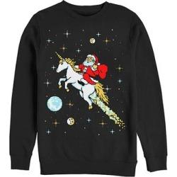 Fifth Sun Men's Pullover Sweaters BLACK - Black & White New Ride Fleece Sweatshirt - Men found on Bargain Bro from zulily.com for USD $15.19