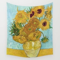 Wall Hanging Tapestry   Vincent Van Gogh,