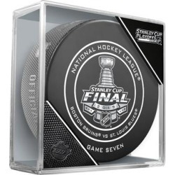 Boston Bruins vs. St. Louis Blues Fanatics Authentic Unsigned InGlasCo 2019 Stanley Cup Final Bound Dueling Game 7 Official Puck found on Bargain Bro from Fanatics for USD $15.19