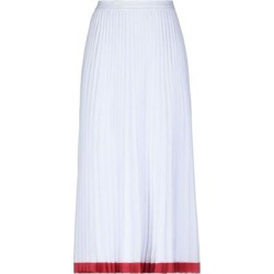 3/4 Length Skirt - White - Lacoste Skirts found on MODAPINS from lyst.com for USD $195.00