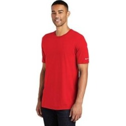 Nike Men's Core Cotton Crew Neck Tee (University Red - XL) found on Bargain Bro India from Overstock for $25.64