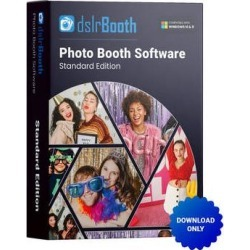 dslrBooth Standard Windows Edition Photo Booth Software (Download) DSLRBOOTH-WIN found on Bargain Bro Philippines from B&H Photo Video for $59.00