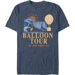 Fifth Sun Men's Tee Shirts NAVY - Up Heather Navy 'Balloon Tour' Tee - Men found on Bargain Bro Philippines from zulily.com for $19.99
