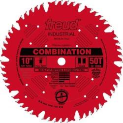 Diablo 10Inch Combination Circular Saw Blade - 50T, Model LU84R011