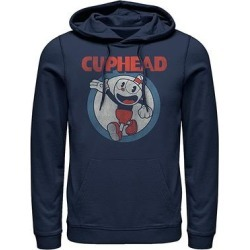Fifth Sun Men's Sweatshirts and Hoodies NAVY - Cuphead Navy Firsties Hoodie - Men found on Bargain Bro from zulily.com for USD $28.87