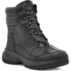 UGG Yose Waterproof Lace-up Boot - Black - Ugg Boots found on Bargain Bro from lyst.com for USD $114.00
