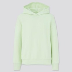 UNIQLO Women's Ultra Stretch Sweat Long-Sleeve Hoodie, Green, L found on Bargain Bro Philippines from Uniqlo for $7.90