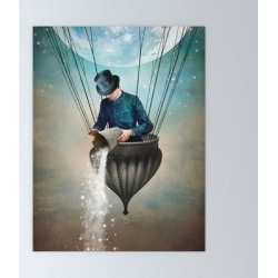 High In The Sky Mini Art Print by Christian Schloe - Without Stand - 3