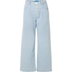 Denim Trousers - Blue - MiH Jeans Jeans found on MODAPINS from lyst.com for USD $171.00