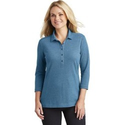 Port Authority LK581 Women's Coastal Cotton Blend Polo Shirt in River Blue Navy Blue/Carolina size XL   Cotton/Polyester found on Bargain Bro from ShirtSpace for USD $14.40