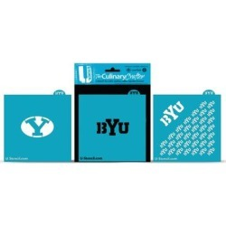 BYU Cougars Culinary Crafter Stencil Set found on Bargain Bro Philippines from Fanatics for $24.99