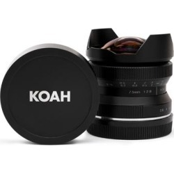 Koah Artisans Series 7.5mm f/2.8 Wide-Angle Fisheye Lens for Canon EF found on Bargain Bro Philippines from Overstock for $149.99