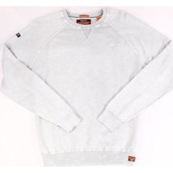 Superdry Mens Sweater Gray Size Large L Pullover Garment Dyed Crewneck (L), Men's(cotton) found on Bargain Bro Philippines from Overstock for $32.97