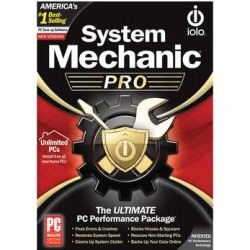 iolo technologies System Mechanic Pro 1-Year Subscription (Unlimited PCs) SMPRO14ESD found on Bargain Bro Philippines from B&H Photo Video for $49.99