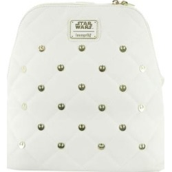 Loungefly Star Wars Rebel Mini Backpack White/Gold found on Bargain Bro Philippines from ShoeMall.com for $90.00