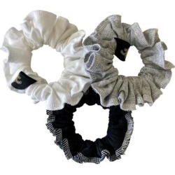 New Orleans Saints Refried Apparel Upcycled 3-Pack Scrunchie Set found on Bargain Bro Philippines from nflshop.com for $24.00