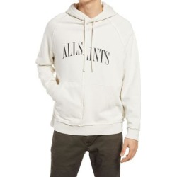 Men's Diverge Logo Hoodie - White - AllSaints Sweats found on Bargain Bro India from lyst.com for $139.00