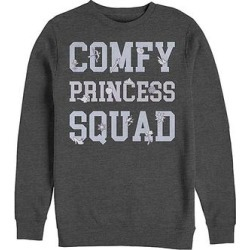 Fifth Sun Men's Pullover Sweaters CHAR - Wreck-It-Ralph Charcoal Heather 'Comfy Princess Squad' Sweater - Men found on Bargain Bro from zulily.com for USD $21.27