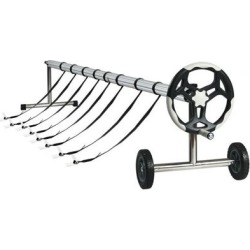 Costway 21 Ft Aluminum Pool Cover Reel Set found on Bargain Bro Philippines from Costway for $189.95