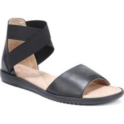 Women's Willa Sandal by Naturalizer in Black Leather (Size 8 1/2 M) found on Bargain Bro India from Woman Within for $79.99