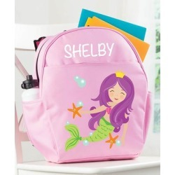 Personalized Planet Backpacks - Pink Mermaid Personalized Backpack found on Bargain Bro India from zulily.com for $24.99