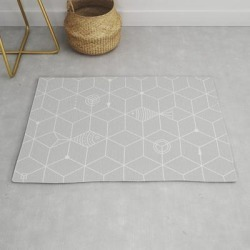 Modern Throw Rug | Two Fishes by Ia Po - 2' x 3' - Society6 found on Bargain Bro India from Society6 for $34.30