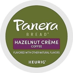 12 Ct Panera Bread Hazelnut Crème Coffee K-Cup® Pods. Coffee found on Bargain Bro from Keurig.com for USD $6.83