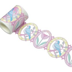 Wrapables Washi Tape - Birds & Flowers Hollow Sticker Tape found on Bargain Bro from zulily.com for USD $7.59