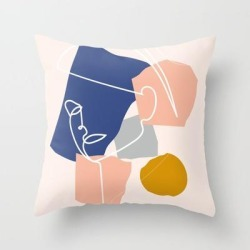 Couch Throw Pillow   Femme Fatale by Grace - Cover (16