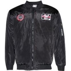 Mens Zip Bomber Jacket Side Pockets Zipper Adventures Regular Fit (Black - XL), Men's found on MODAPINS from Overstock for USD $30.62