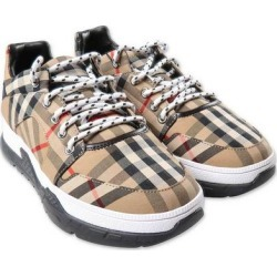 Vintage Check Beige Sneakers - Natural - Burberry Sneakers found on Bargain Bro India from lyst.com for $447.00