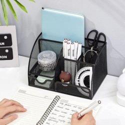 Inbox Zero Desk Organzier Mesh Office Supplies Organization in Black, Size 5.5 H x 8.6 W x 5.0 D in   Wayfair C0572475E36B4FBA86990F0F6BA84C0A found on Bargain Bro Philippines from Wayfair for $81.99