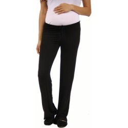 24/7 Comfort Apparel Women's Draw String Maternity Narrow Pants found on Bargain Bro Philippines from Overstock for $20.69
