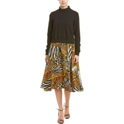Why Dress A-Line Dress (Multi - L), Women's, Multicolor(polyester, printed)