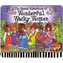 Suzy Toronto Mouse Pads - 'Wonderful Wacky Women' Mouse Pad found on Bargain Bro Philippines from zulily.com for $8.99