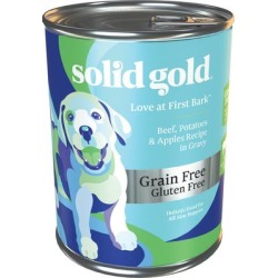 Solid Gold Love At First Bark Beef, Sweet Potato & Apple Grain Free Wet Puppy Food, 13.2 oz. found on Bargain Bro Philippines from petco.com for $2.59