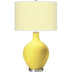 Lemon Twist Diamonds Ovo Table Lamp found on Bargain Bro Philippines from LAMPS PLUS for $159.99